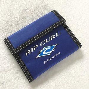 🆕 blue Rip Curl 90's Velcro wallet